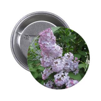 Lilac Pretty Purple 6 Cm Round Badge