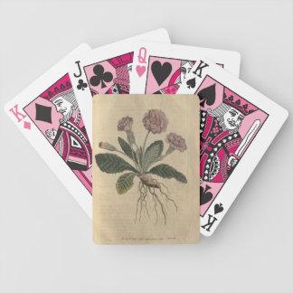 Lilac Primrose Bicycle Playing Cards