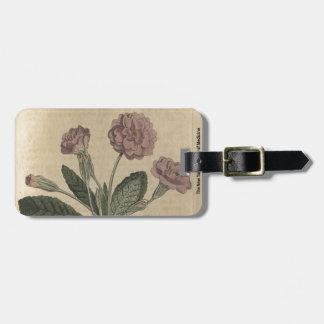 Lilac Primrose Luggage Tag