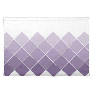 Lilac Purple Ombre Wedding Place Mat