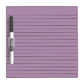 LILAC PURPLE STRIPED LINES, WRITING NOTE BOARD
