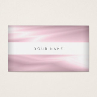 Lilac Purple White Silk Delicate Vip Abstract Business Card