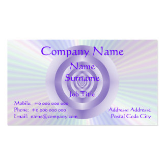 Lilac Rings Business Card
