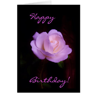 Lilac Rose Card