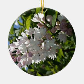 Lilac Round Ceramic Decoration
