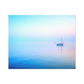 Lilac Sea Canvas Print