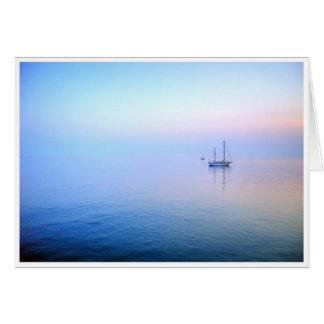 Lilac Sea Card