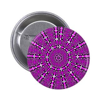 Lilac Snowflake Button
