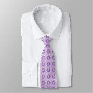 Lilac & Spot/Dot Design Tie