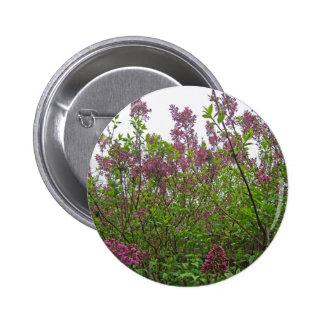 Lilac Spring 6 Cm Round Badge