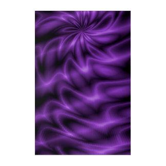 Lilac Swirl Acrylic Wall Art
