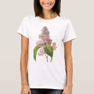 lilac(Syringa sp.) by Redouté T-Shirt