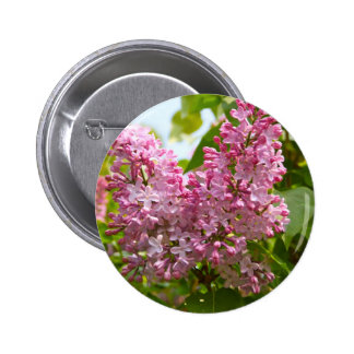 Lilac Tree Button Badge
