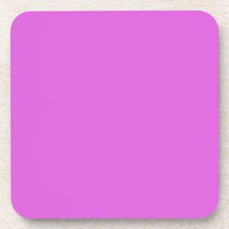 Lilac Valentines Solid Drink Coaster
