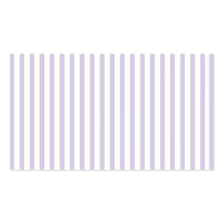 Lilac Vertical Stripes Pack Of Standard Business Cards