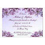 Lilac Wedding Brunch Personalized Invitation