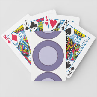 LilacInPurple Dots Bicycle Playing Cards