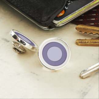 LilacInPurple Dots Lapel Pin