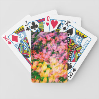 Lilacs and Tulips Bicycle Playing Cards