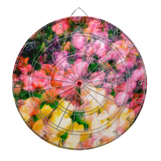 Lilacs and Tulips Dart Boards