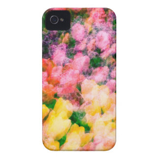 Lilacs and Tulips iPhone 4 Cover