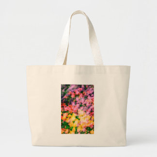 Lilacs and Tulips Large Tote Bag