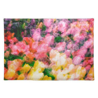 Lilacs and Tulips Placemat
