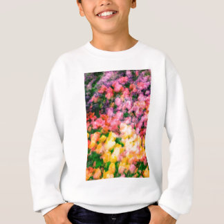 Lilacs and Tulips Sweatshirt