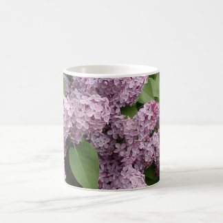 Lilacs Basic White Mug
