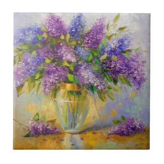 Lilacs Ceramic Tile