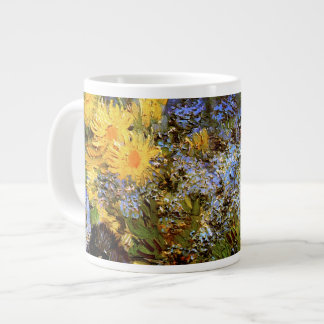 Lilacs Daisies & Anemones Van Gogh Fine Art Large Coffee Mug