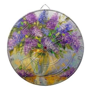 Lilacs Dartboard