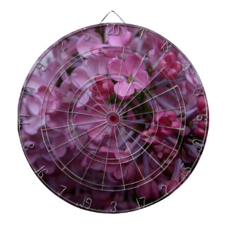 Lilacs Dartboard With Darts
