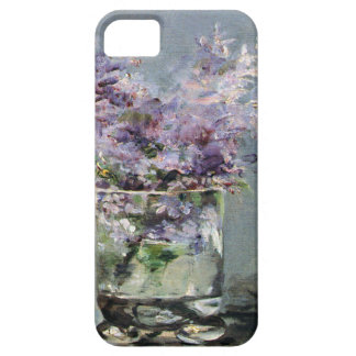 Lilacs in a Glass  by Edouard Manet iPhone 5 Case