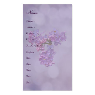 Lilacs in Springtime Business Cards
