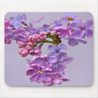 Lilacs in Springtime Mouse Pads