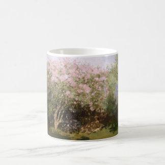 Lilacs in the Sun Claude Monet Fine Art Coffee Mug