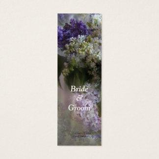 Lilacs Of Love Bookmark Mini Business Card