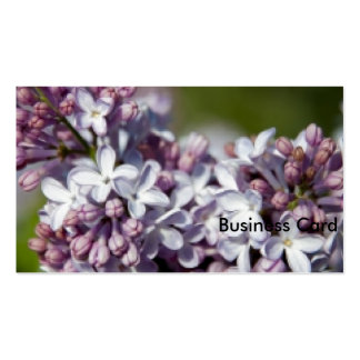 Lilacs Pack Of Standard Business Cards