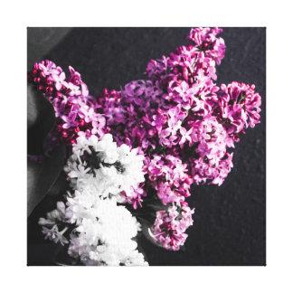 Lilacs stretch canvas canvas print