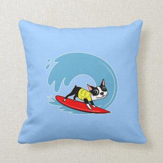 Lili Chin Surfing Boston Pillow