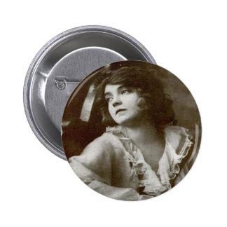 Lilian Gish 6 Cm Round Badge