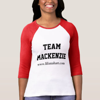 Liliana Hart - Team MacKenzie Baseball Shirt