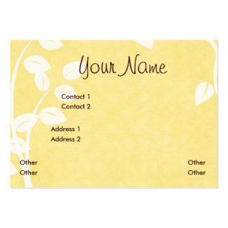 LiLiANAa Business Profile Card Business Card Templates