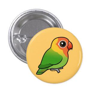 Lilian's Lovebird 3 Cm Round Badge