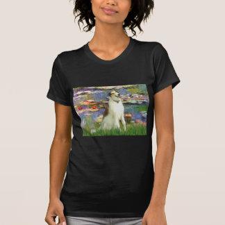 Lilies 2 -  Borzoi T-Shirt