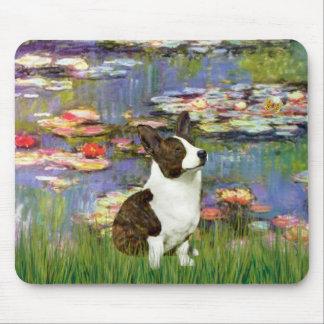 Lilies 2 - Cardigan Welsh Corgi 5 Mouse Pad