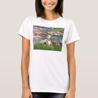 Lilies 2 - Whippet #2 T-Shirt