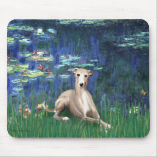 Lilies 5 - Whippet #2 Mouse Pad