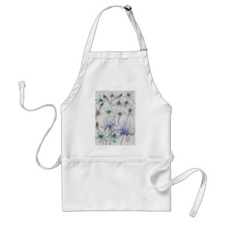 Lilies and Orchids Aprons